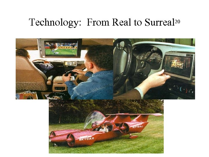 Technology: From Real to Surreal 20