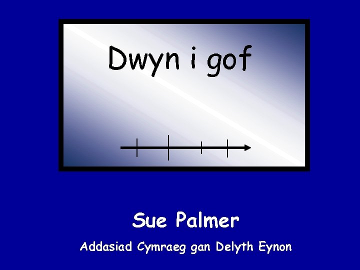 Dwyn i gof Sue Palmer Addasiad Cymraeg gan Delyth Eynon