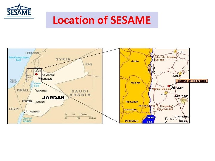 Location of SESAME