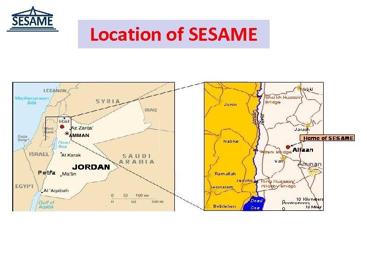 Location of SESAME