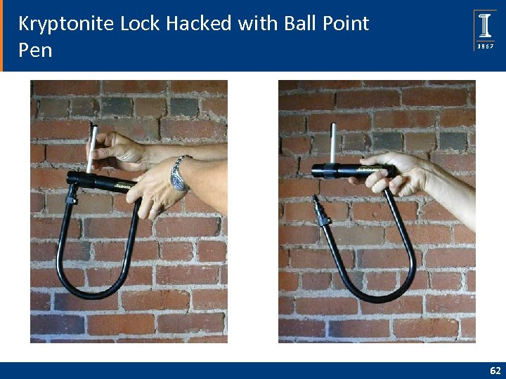 Kryptonite Lock Hacked with Ball Point Pen 62