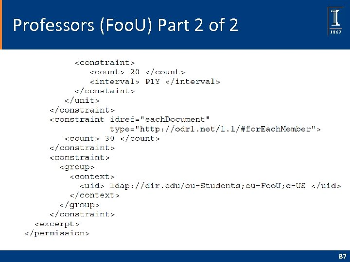Professors (Foo. U) Part 2 of 2 87