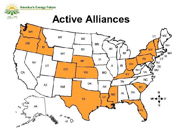 America's Energy Future Active Alliances