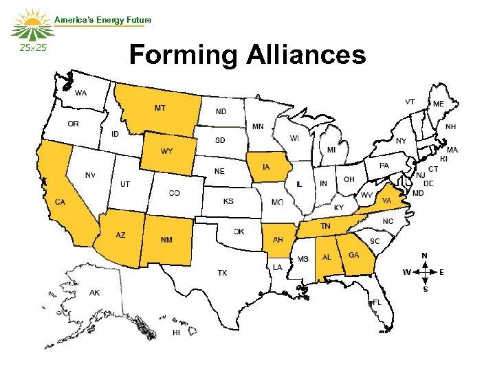 America's Energy Future Forming Alliances