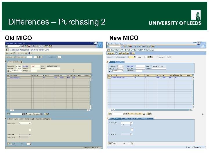 Differences – Purchasing 2 Old MIGO New MIGO
