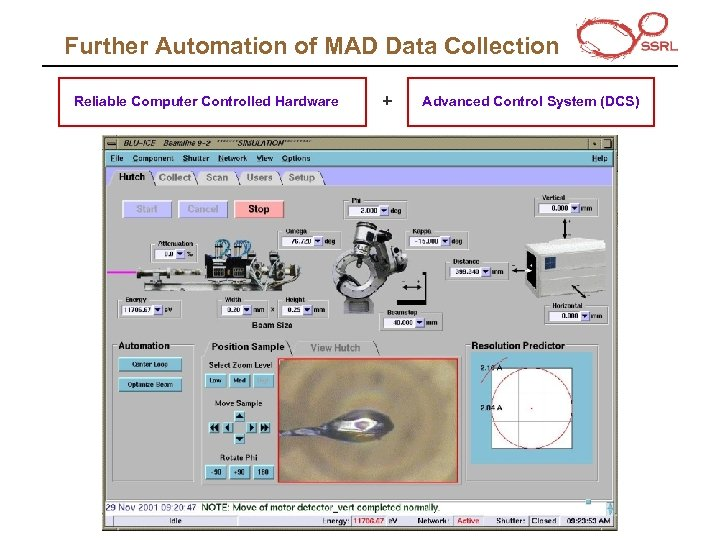 Further Automation of MAD Data Collection Reliable Computer Controlled Hardware + Advanced Control System