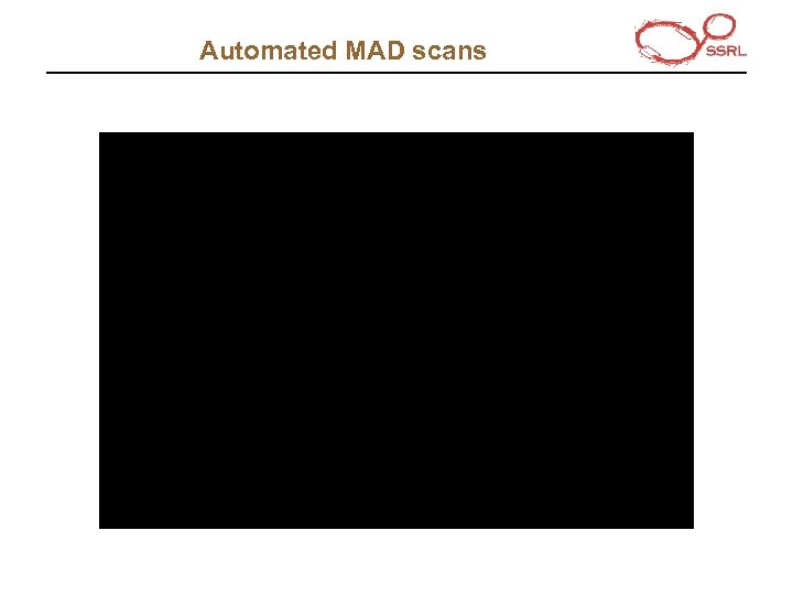 Automated MAD scans