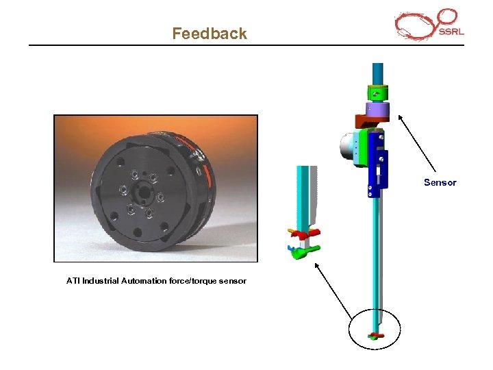 Feedback Sensor ATI Industrial Automation force/torque sensor
