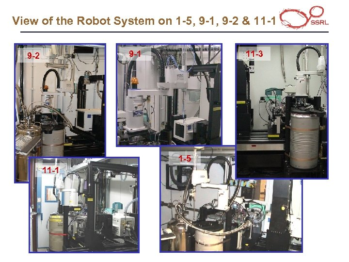 View of the Robot System on 1 -5, 9 -1, 9 -2 & 11