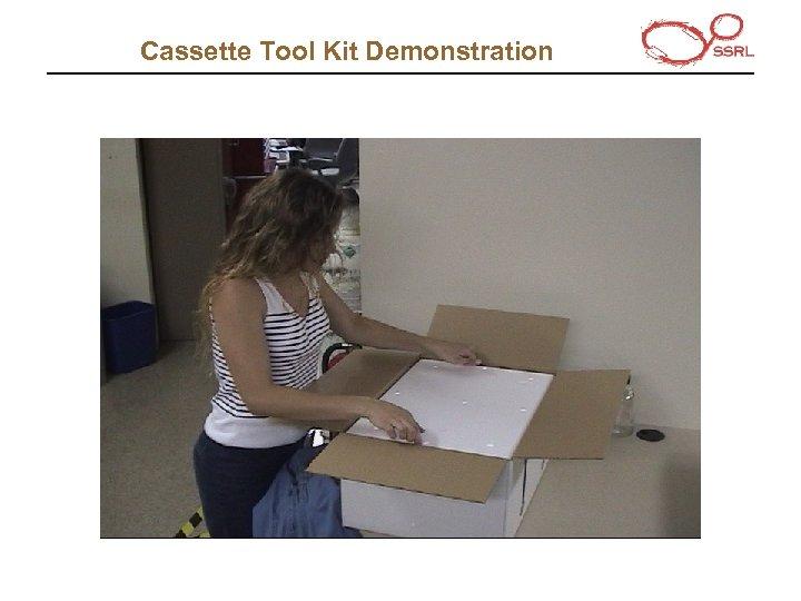 Cassette Tool Kit Demonstration