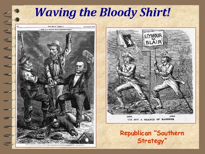 """Waving the Bloody Shirt! Republican """"Southern Strategy"""""""