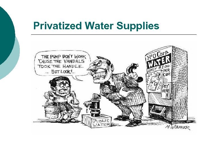 Privatized Water Supplies