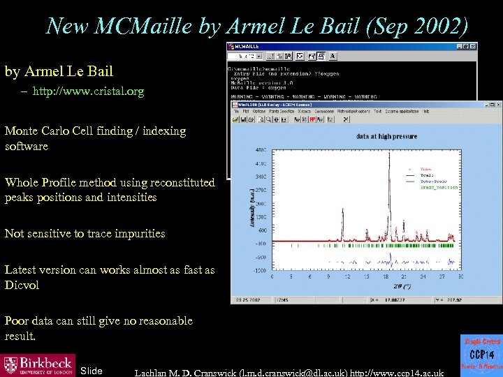 New MCMaille by Armel Le Bail (Sep 2002) by Armel Le Bail – http: