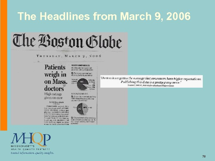 The Headlines from March 9, 2006 78