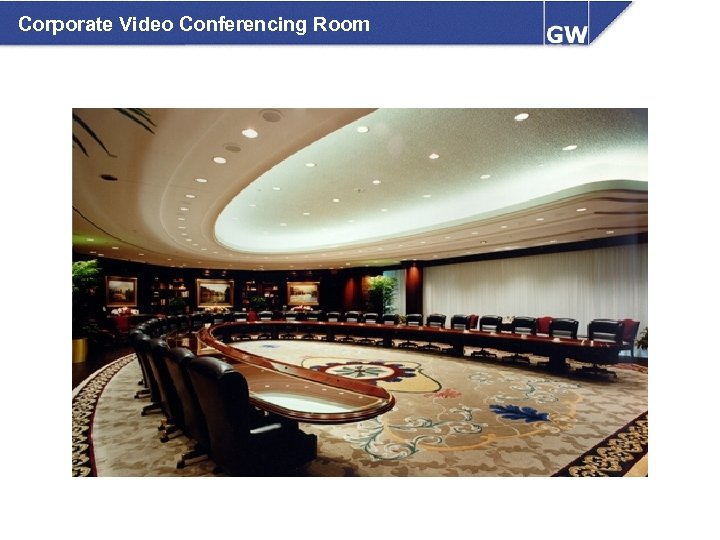 Corporate Video Conferencing Room
