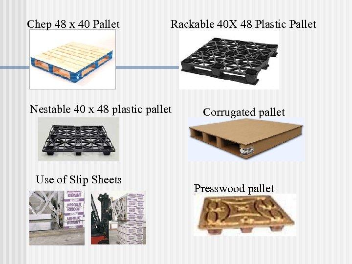 Chep 48 x 40 Pallet Rackable 40 X 48 Plastic Pallet Nestable 40 x