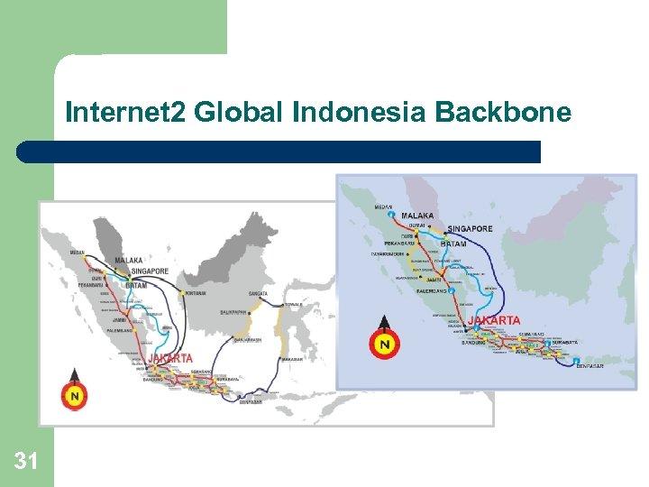 Internet 2 Global Indonesia Backbone 31