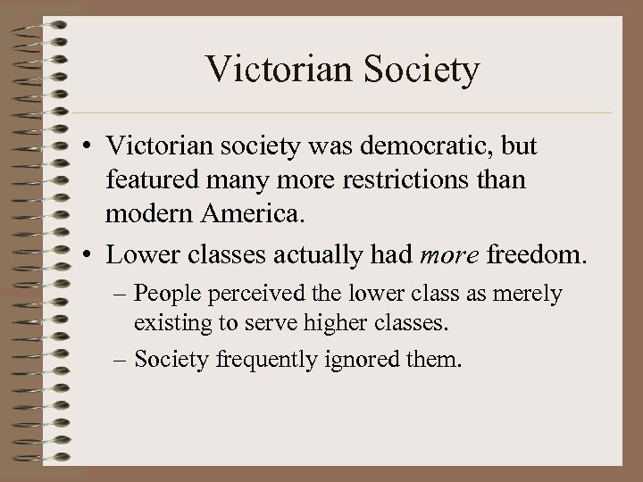 ridiculing victoran society inrthe important of being His characters are typical victorian snobs they are arrogant, overly proper, formal and concerned with money in oscar wilde's the importance of being earnest, the upper class society is merely a twisted web of nonsensical wisdoms and outrageously absurd.