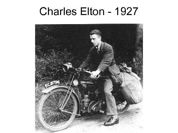 Charles Elton - 1927