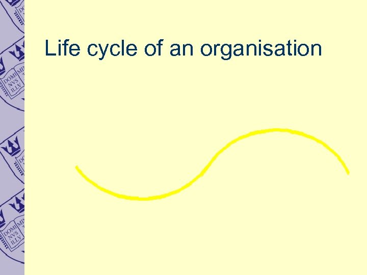 Life cycle of an organisation