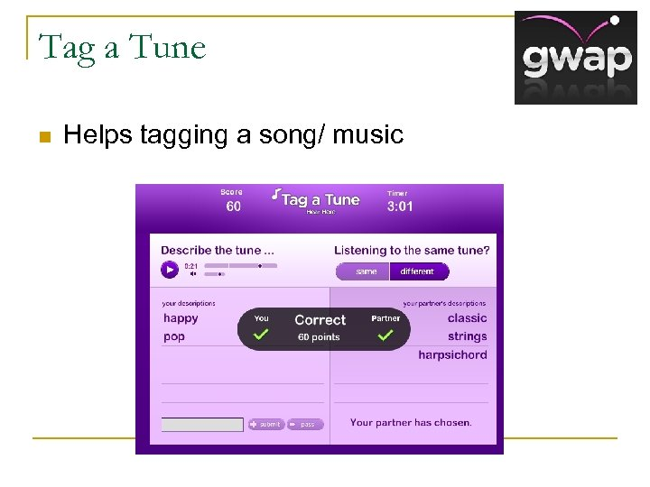 Tag a Tune n Helps tagging a song/ music