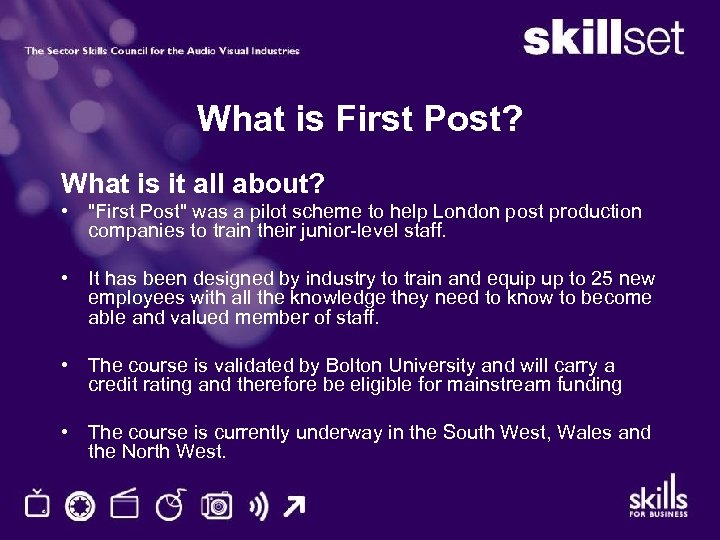 What is First Post? What is it all about? •