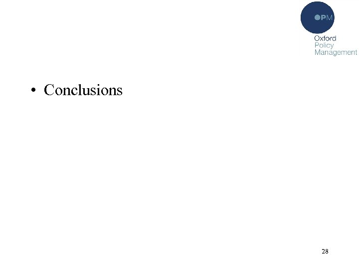 • Conclusions 28