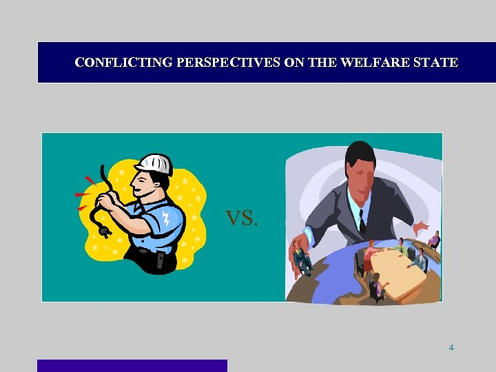 CONFLICTING PERSPECTIVES ON THE WELFARE STATE VS. 4