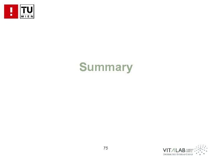 Summary 75