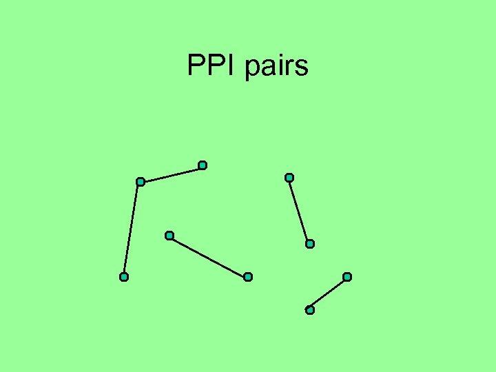 PPI pairs