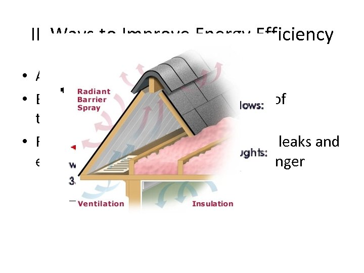 II. Ways to Improve Energy Efficiency • A. How can we use waste heat?