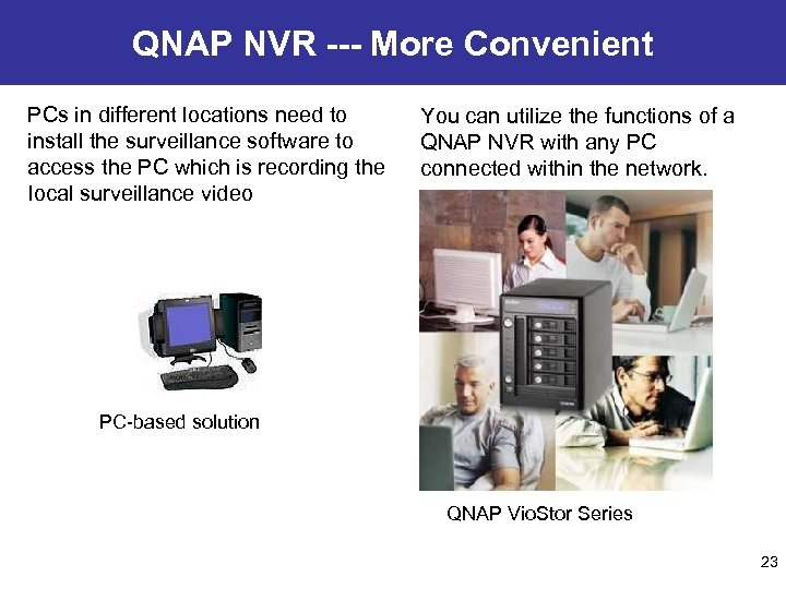 QNAP NVR --- More Convenient PCs in different locations need to install the surveillance
