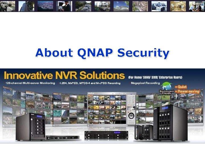 About QNAP Security