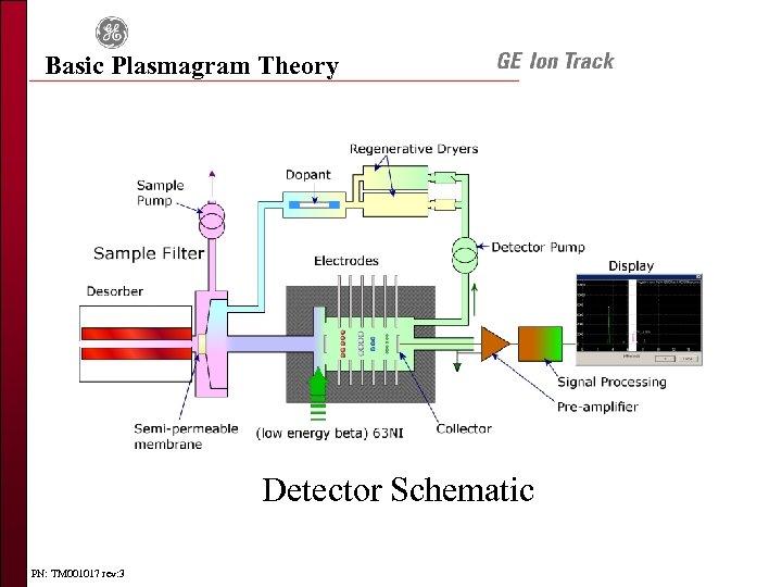 Basic Plasmagram Theory Detector Schematic PN: TM 001017 rev: 3