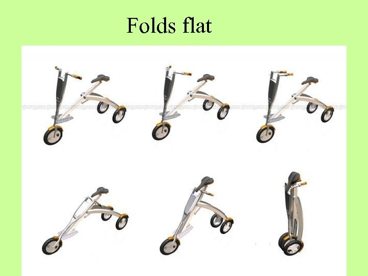 Folds flat
