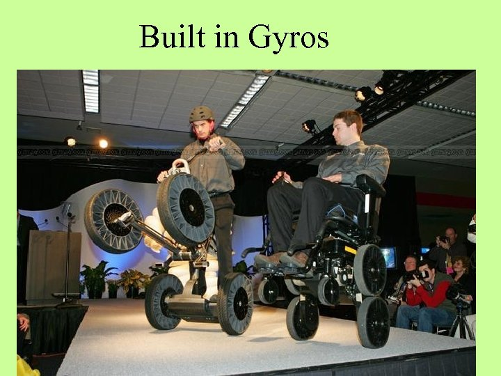 Built in Gyros