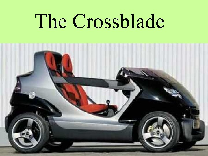 The Crossblade