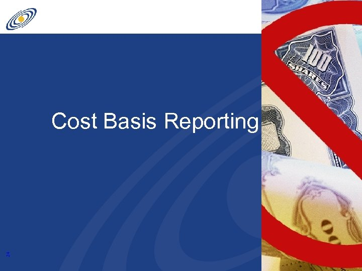 24 Cost Basis Reporting