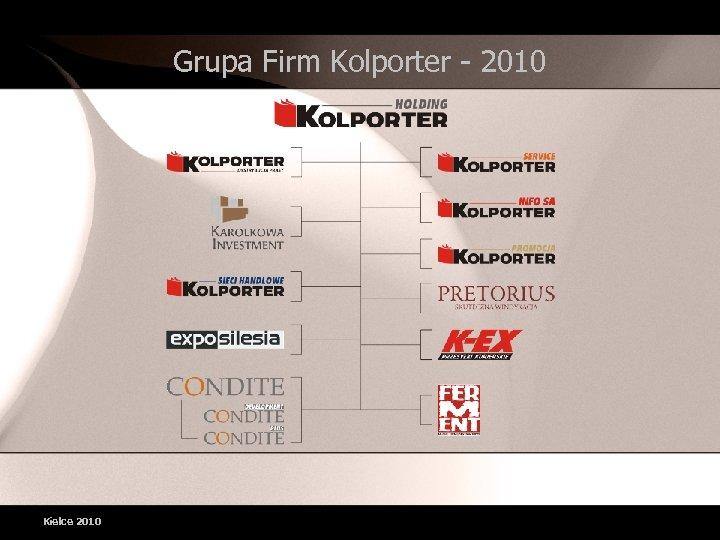Grupa Firm Kolporter - 2010 Kielce 2010