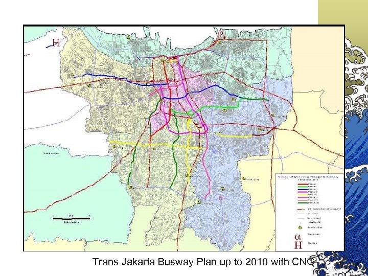 Trans Jakarta Busway Plan up to 2010 with CNG