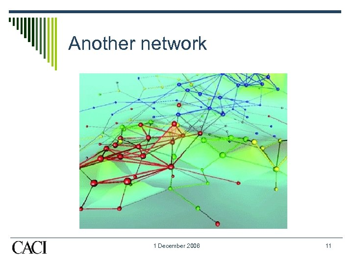 Another network 1 December 2006 11