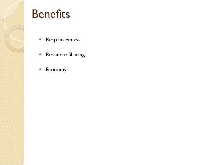 Benefits Responsiveness Resource Sharing Economy