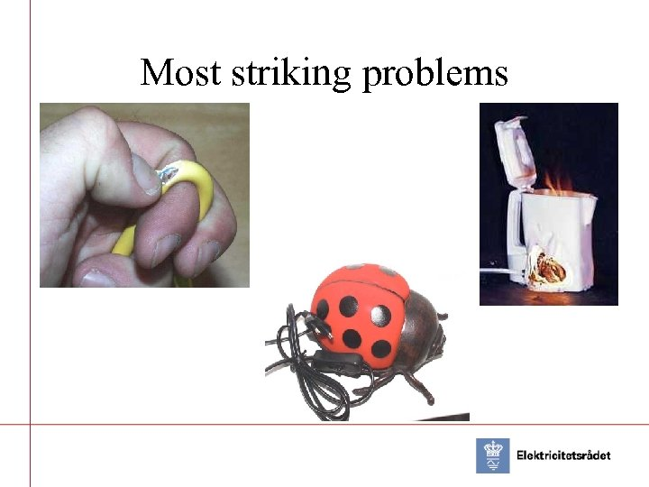 Most striking problems