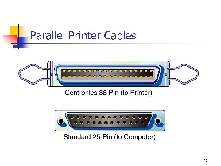 Parallel Printer Cables 22