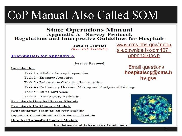 Co. P Manual Also Called SOM www. cms. hhs. gov/manu als/downloads/som 107_ Appendixtoc. p