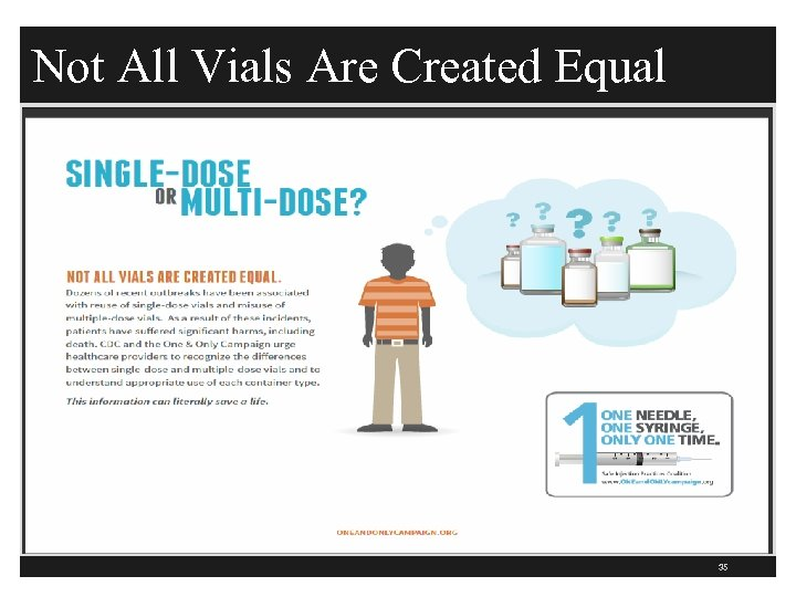 Not All Vials Are Created Equal 35