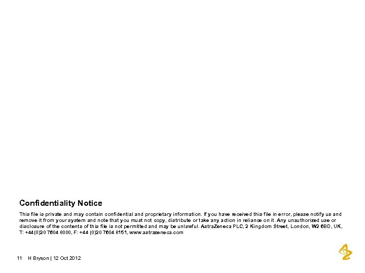 Confidentiality Notice This file is private and may contain confidential and proprietary information. If