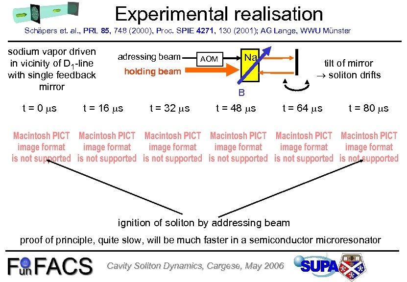 Experimental realisation Schäpers et. al. , PRL 85, 748 (2000), Proc. SPIE 4271, 130
