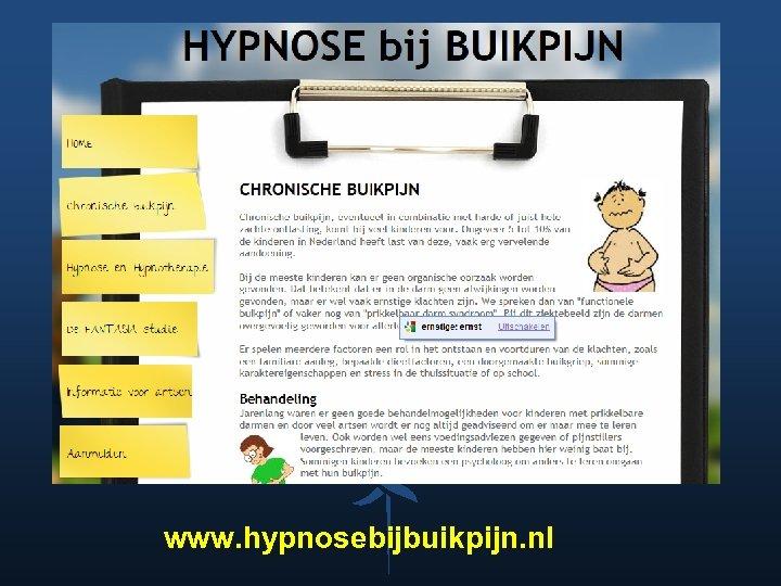 www. hypnosebijbuikpijn. nl