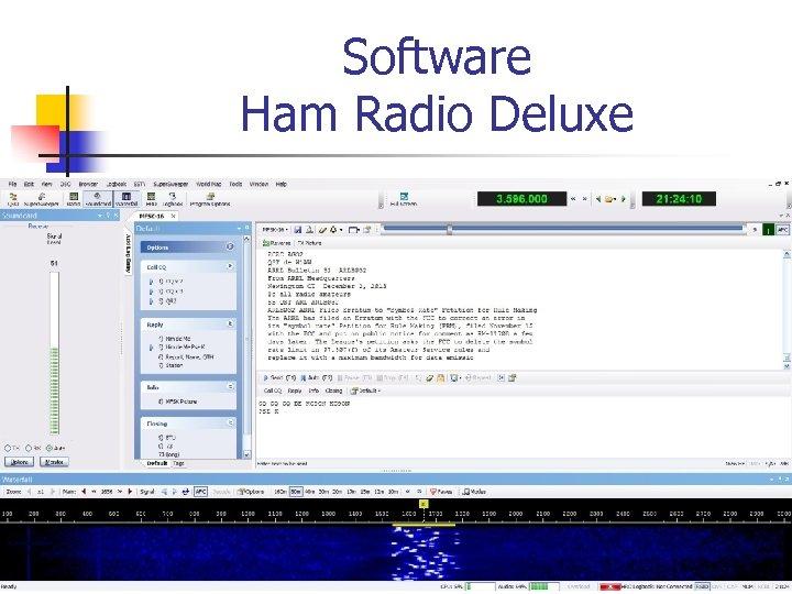 Software Ham Radio Deluxe
